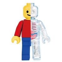 XXRAY – Brick Man Figure Funny Anatomy 4D Master by Jason Freeny [12cm] NEW
