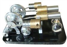 Heissluft Stirling Motor Elektrizität Generator 2X Metallzylinder M16-22-D uy