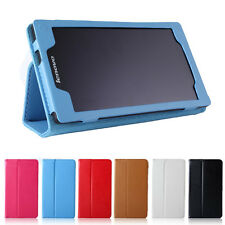 "QW Folio Stand Leather Holder Skin Case Cover For 7"" Lenovo Tab 2 A7-10F Tablet"