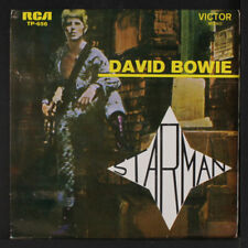 DAVID BOWIE: Starman 45 (Portugal, 1977 reissue, PS w/ only hint of wear)
