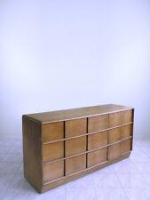 HEYWOOD WAKEFIELD SCULPTURA mid century modern atomic chest 9 drawer dresser