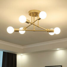 Modern Metal Gold Black Ceiling Lamp Home Decor Lighting Suspension Lamp Branch