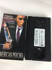 American Psycho Vhs 2000 Lions Gate Horror Huey Lewis and The News