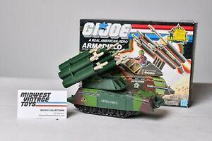 Vintage GI JOE VEHICLE 1989 Slaughters Marauders Armadillo 100% Complete HASBRO