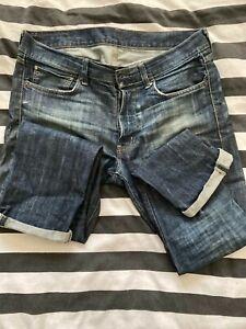 Ralph Lauren 'Denim & Supply distressed jeans, slim, blue, 34/32