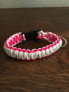 "Paracord Dog Collar Small (12""long 1"" Wide) King Cobra Style"