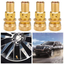 Car Off-road Brass Tire Deflators Kit for Standard Schrader Tyre Valve Stem