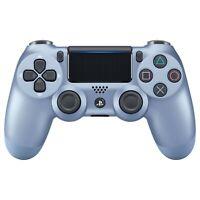 Sony PlayStation DualShock 4 PS4 Wireless Controller, Version 2, TITANIUM BLUE
