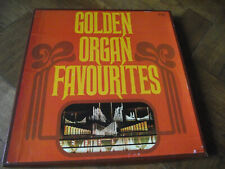 MINT- VARIOUS - GOLDEN ORGAN FAVOURITES - READERS DIGEST GGOF 5A 5 LP BOX SET