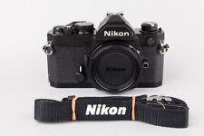 Nikon FM 35mm SLR Film Camera Body Only, Black