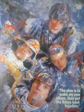 The Stone Roses -- Manchester, 1989 -- Laminated A4 Poster
