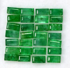 Natural Emerald Baguette Cut 4x2 mm Lot 10 Pcs 1.21 Cts Untreated Loose Gemstone