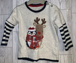 Boys Age 3-6 Months - Christmas Long Sleeved Top