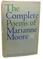 Marianne Moore THE COMPLETE POEMS OF MARIANNE MOORE  1st Edition 1st Printing