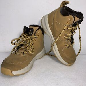 Nike ACG Toddler Leather boots Little Kids sz 12C 472649-700 Vgc