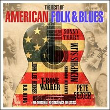 The Best Of American Folk & Blues - 60 Original Recordings 3CD 2016 NEW/SEALED