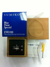 Sumiko Blue Point Special EVO III 2.5mV High Output MC Cartridge, Made in Japan