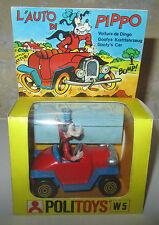 Modellino Macchina Auto di Pippo Polistil Walt Disney w 5 con box SPESE GRATIS