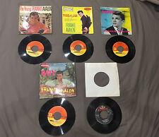 Lot 5 disques 45 tours Frankie Avalon