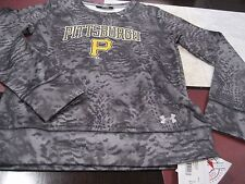 YOUTH BOYS/GIRLS UNDER ARMOUR MLB PITTSBURGH PIRATES CAMO SWEATER YLG LARGENWT