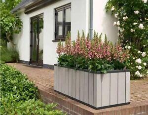 GARDEN PLANTER - Flower Bed - Low Maintenance - 2 Size options