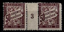 Millésime 1903 du Timbre TAXE n°37, Neufs * = Cote 20  € / Lot France