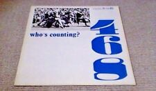 ROGER WEBB WHO'S COUNTING DE WOLFE LIBRARY LP 1982 SOUL DISCO BREAKS NFL FILMS