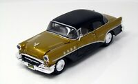 "Modell 1:24 Buick Century ""Outlaws"" 1955 gold/schwarz   Maisto 32507"