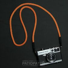 Color Orange Rope Climbing Neck / Shoulder Strap Compatible with all Camera.