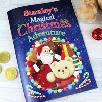 Personalised Magical Christmas Adventure Story Book – Softback Gift Idea