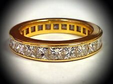 Stunning! 14K - Gold & Diamond Ladies / Women's - Ring / Band ...!! 4.00 TCW