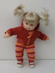 American Girl Bitty Twin Girl Doll & Roll-N-Go Blond Blue Eyes Retired 6PC Lot