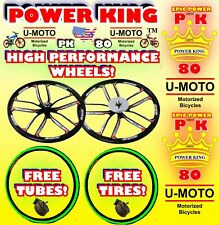 2-Stroke 48cc/49cc/50cc/66cc/80cc Motorized Bike Tires For Bicycles And Kits