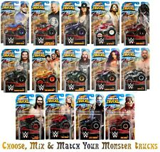 Hot Wheels 2020 Monster Trucks WWE Wrestling * PICK CHOOSE & MIX TRUCKS 4/17/21