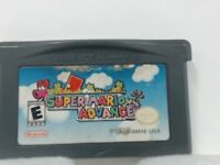 SUPER MARIO ADVANCE GAMEBOY ADVANCED GBA  GOOD