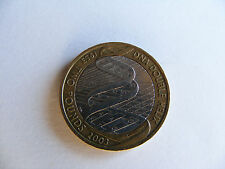 DNA    Double    Helix    £2   Coin   1953  /  2003   (  Pressed  Off   Centre )