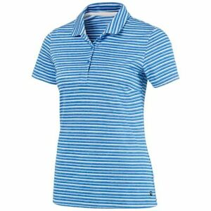 PUMA Golf Women's Links Polo Shirt Size Small NEW Palace Blue