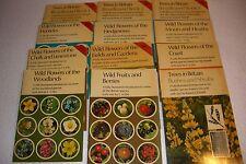 12 VINTAGE JARROLD NATURE SERIES BOOKS