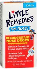 LITTLE REMEDIES FOR NOSES DECONGESTANT  DROPS FOR KIDS  0.5oz