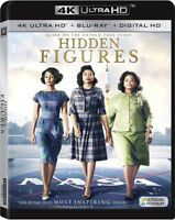 Hidden Figures [New 4K UHD Blu-ray] With Blu-Ray, Widescreen, Ac-3/Dolby Digit