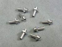 Viper™ Pro-Trax™ Aluminum Screw-In Lexan Body Post Set of 2 BSRT, Tomy - New !!!