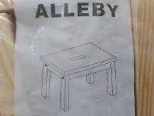 Ikea Alleby Hocker/Schemel/Fußbank 700.761.00 NEU/OVP