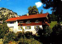 Bad Oberdorf , Haus Konrad Scholl , Ansichtskarte , 1990 gelaufen