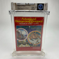 Advanced Dungeons & Dragons Treasure of Tarmin Intellivision Sealed WATA 9.2 A++