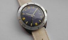 Herren ⌚ MONDIA by Zenith Taucheruhr Handaufzug 36mm Vintage Diver Swiss 60s Uhr