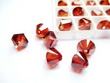 6pcs Swarovski Crystal Beads 5328 Xilion Bicone 8mm - Choose the colour