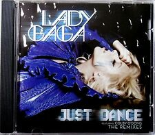 LADY GAGA * JUST DANCE - THE REMIXES * US 9 TRK PROMO * HTF! * THE FAME