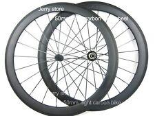 bitex hub carbon clincher 50mm wheels 700C 23mm width aero spoke