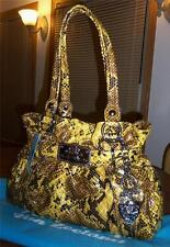 KATHY VAN ZEELAND SUNSHINE STUDIO 54  BELT SHOPPER W/SLEEPER BAG & KEYCHAIN -NWT