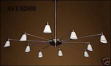 ♥ 10Fl. Sompex Swing Deckenlampe Deckenleuchte Design 1200lm 100W
